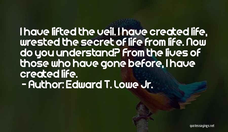 Edward T. Lowe Jr. Quotes 1380768