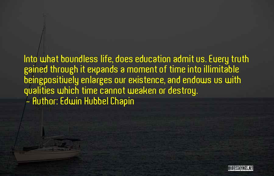 Edwin Hubbel Chapin Quotes 1304789