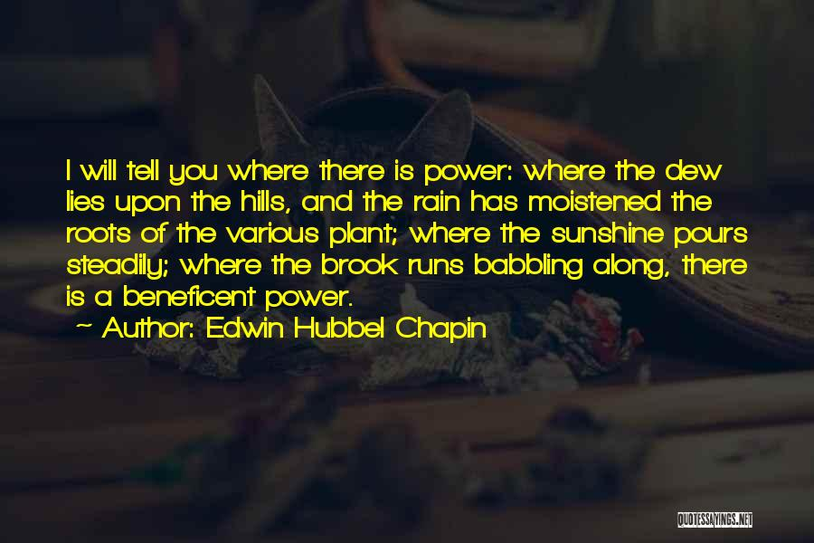 Edwin Hubbel Chapin Quotes 1440341