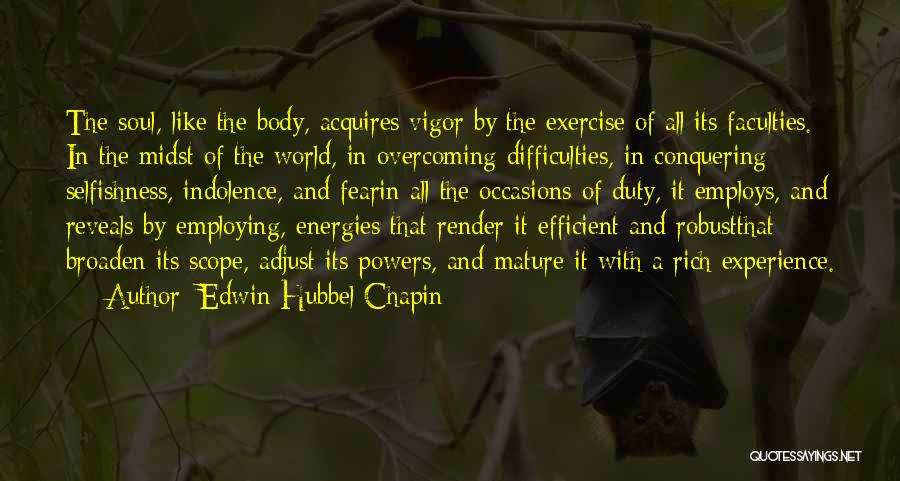 Edwin Hubbel Chapin Quotes 1655807