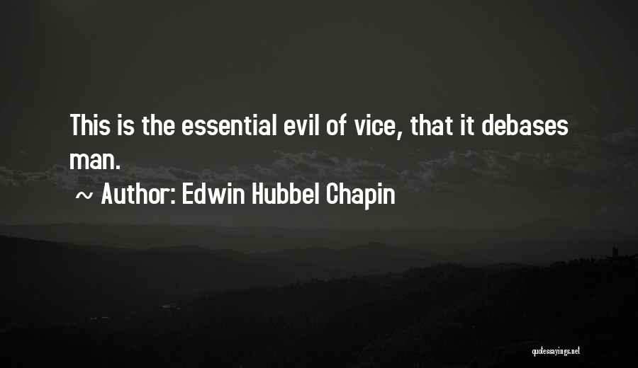 Edwin Hubbel Chapin Quotes 1721632