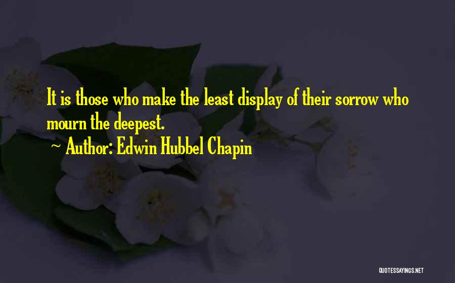 Edwin Hubbel Chapin Quotes 1764961