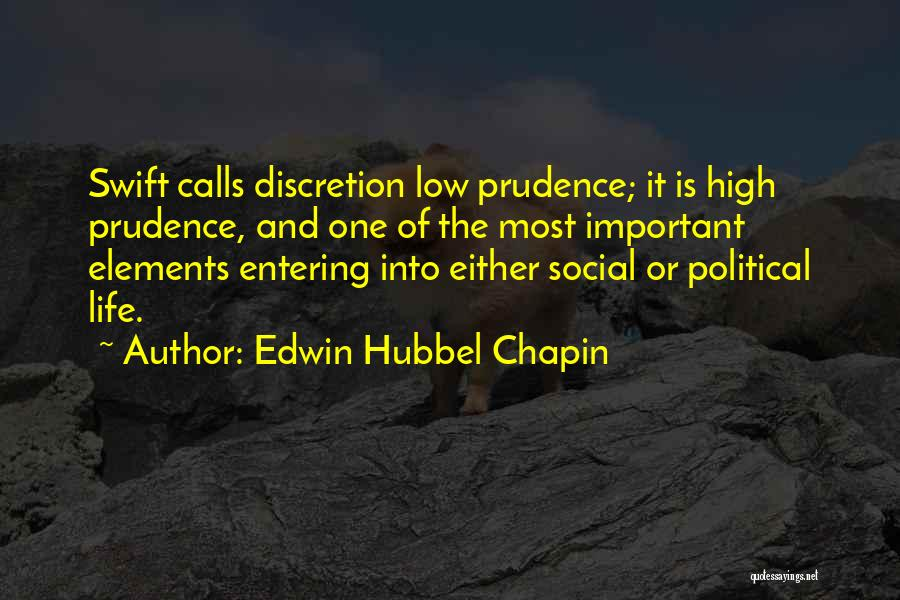 Edwin Hubbel Chapin Quotes 2158471