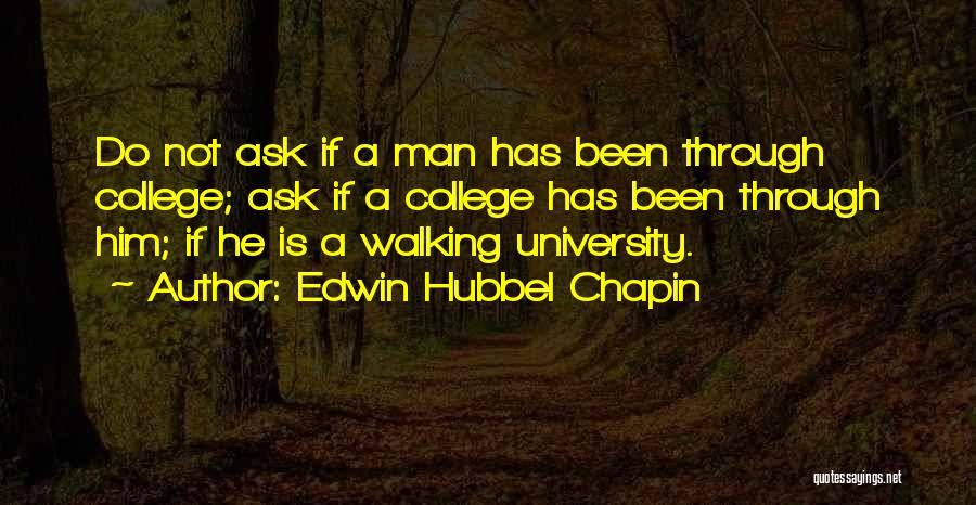 Edwin Hubbel Chapin Quotes 218273