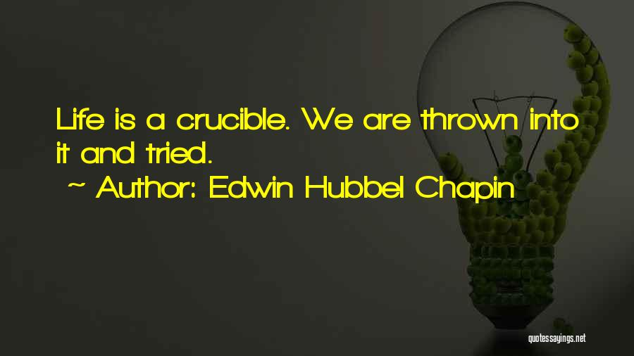 Edwin Hubbel Chapin Quotes 704905