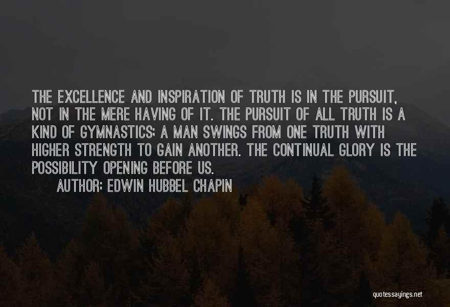 Edwin Hubbel Chapin Quotes 813222
