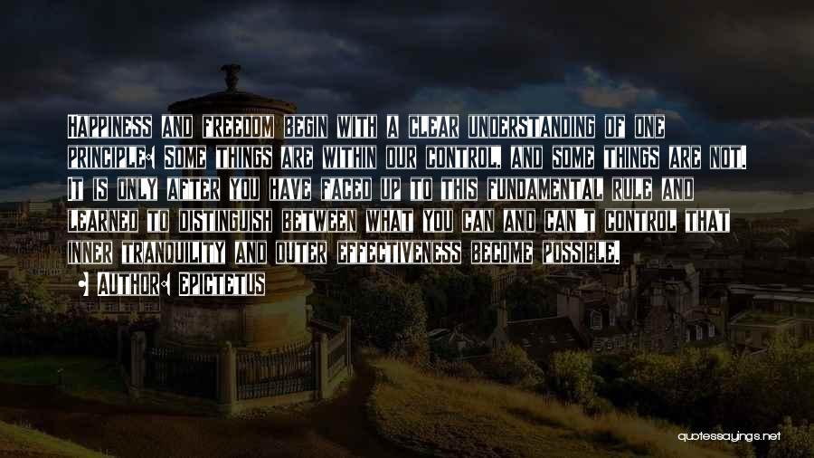 Effectiveness Quotes By Epictetus