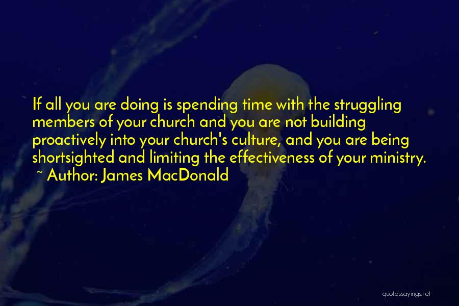 Effectiveness Quotes By James MacDonald