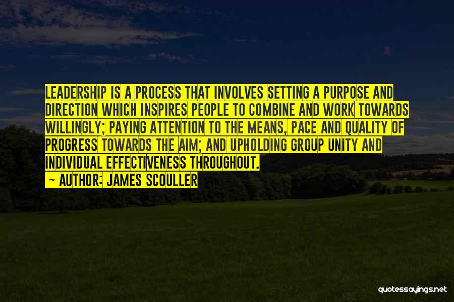 Effectiveness Quotes By James Scouller