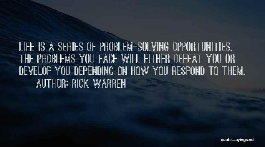 Effectiveness Quotes By Rick Warren