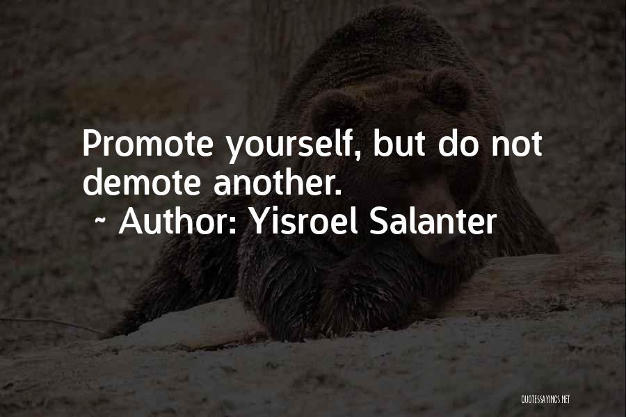Effectiveness Quotes By Yisroel Salanter