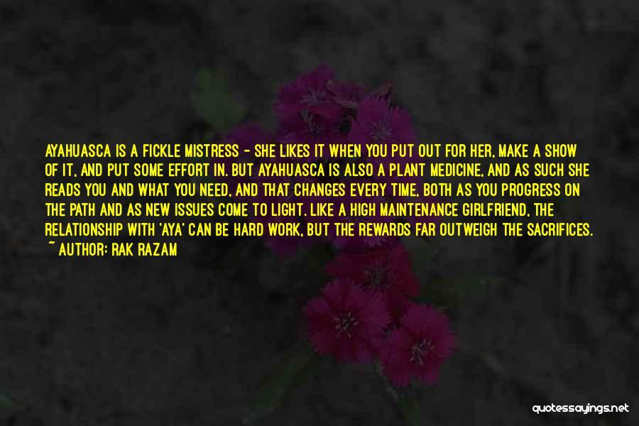 Effort For Relationship Quotes By Rak Razam