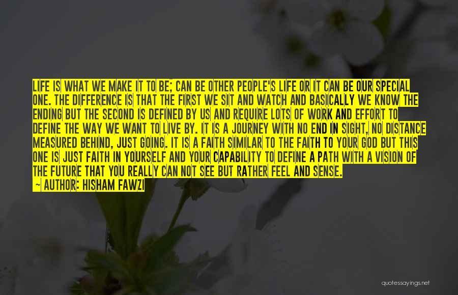 Effort In Work Quotes By Hisham Fawzi