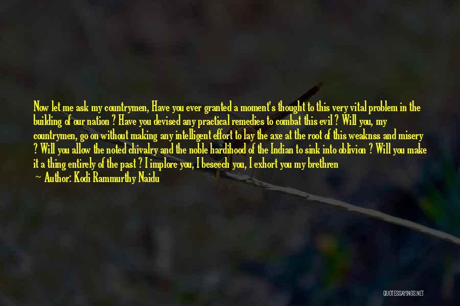 Effort In Work Quotes By Kodi Rammurthy Naidu
