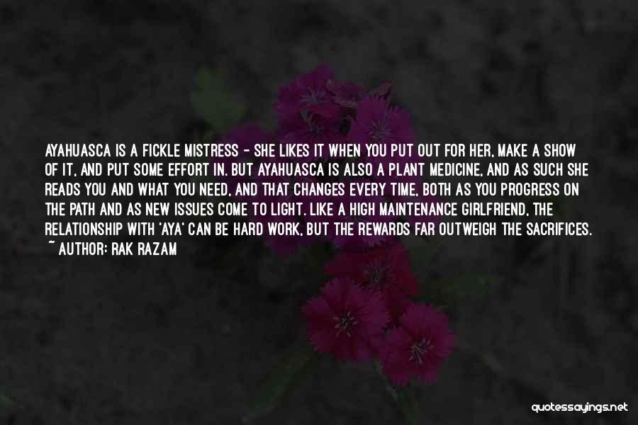 Effort In Work Quotes By Rak Razam