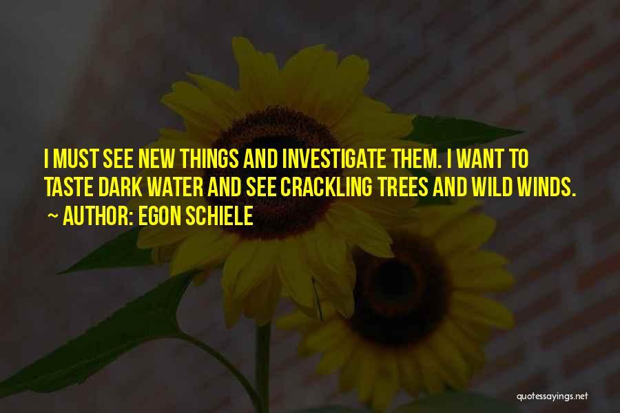 Egon Quotes By Egon Schiele