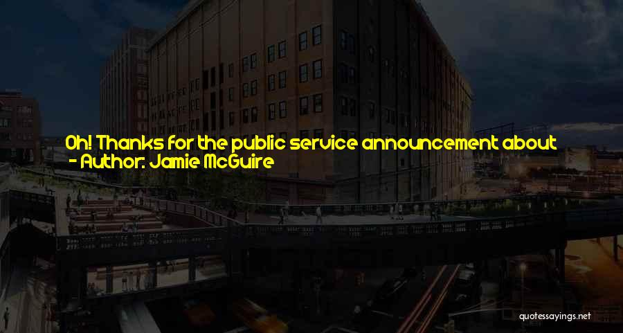 Eighteen Funny Quotes By Jamie McGuire