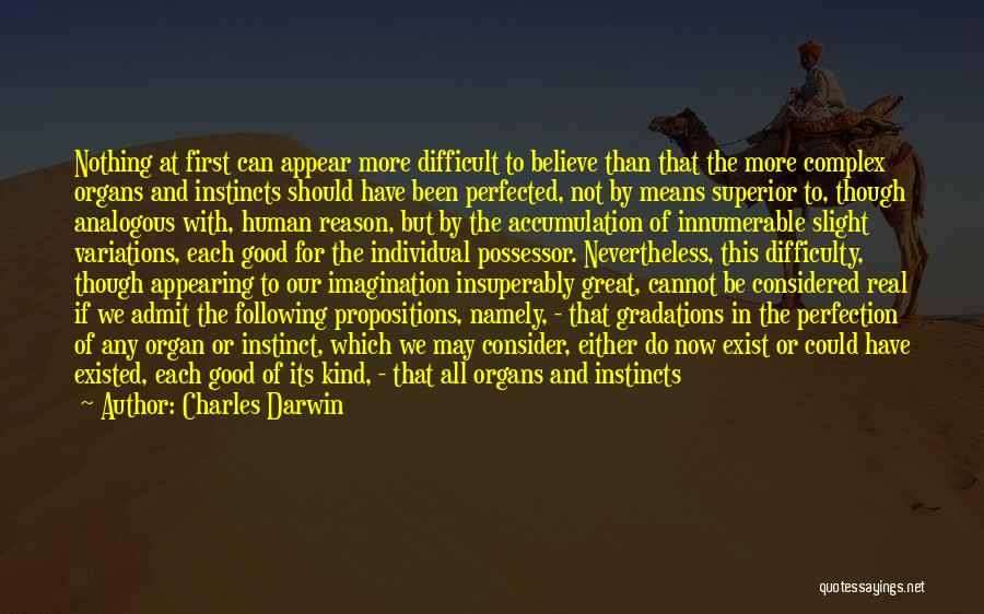 Either All Or Nothing Quotes By Charles Darwin