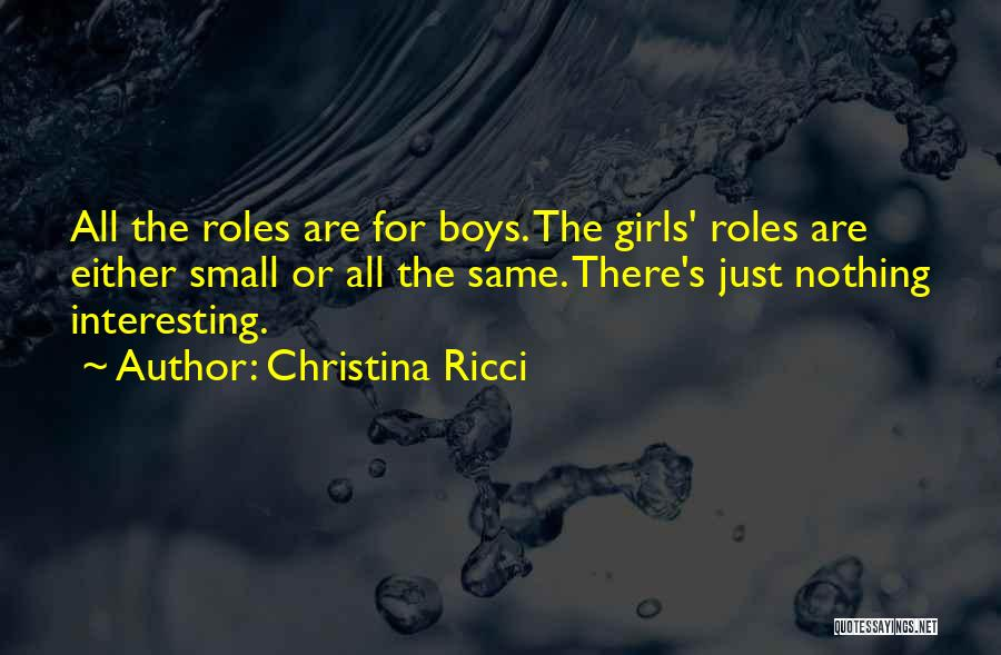 Either All Or Nothing Quotes By Christina Ricci
