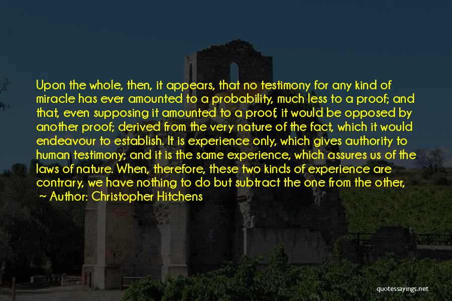 Either All Or Nothing Quotes By Christopher Hitchens