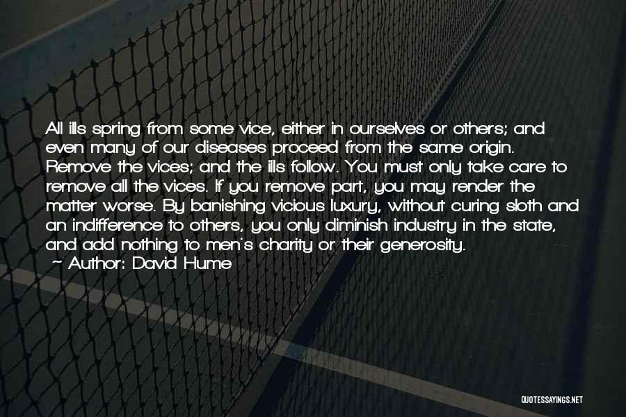 Either All Or Nothing Quotes By David Hume