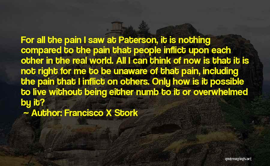 Either All Or Nothing Quotes By Francisco X Stork