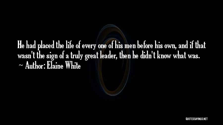 Elaine White Quotes 1204810