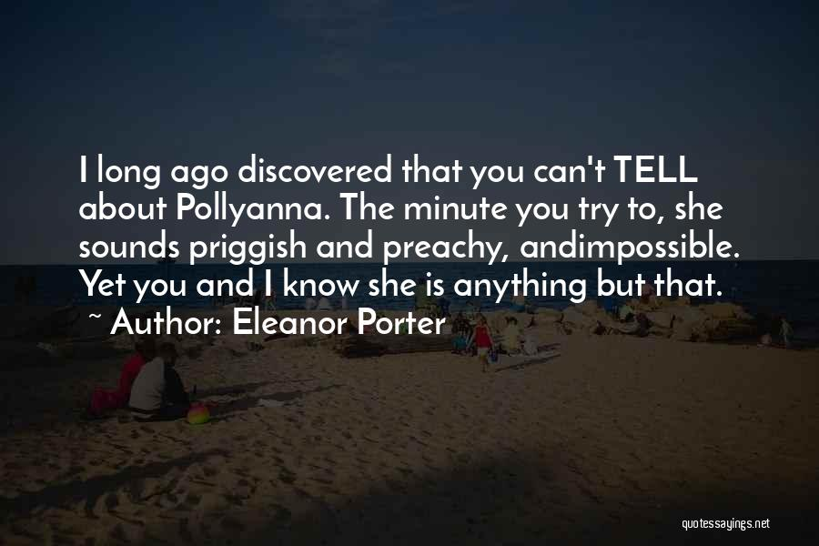 Eleanor Porter Quotes 636609