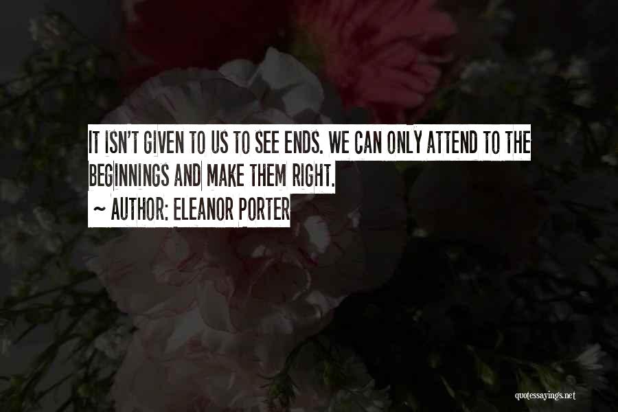 Eleanor Porter Quotes 878973