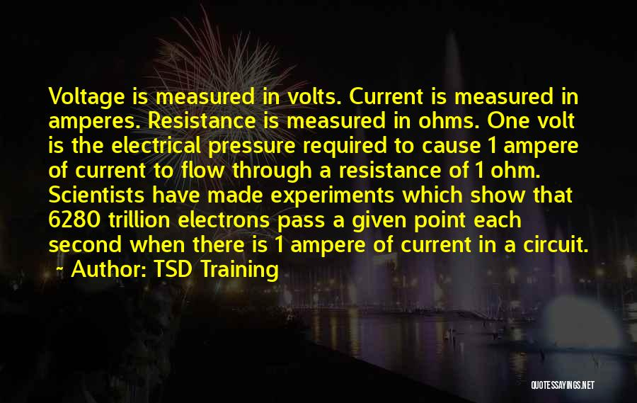 Electrical Circuit Quotes By TSD Training