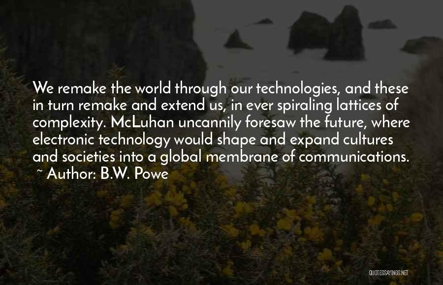Electronic Communication Quotes By B.W. Powe