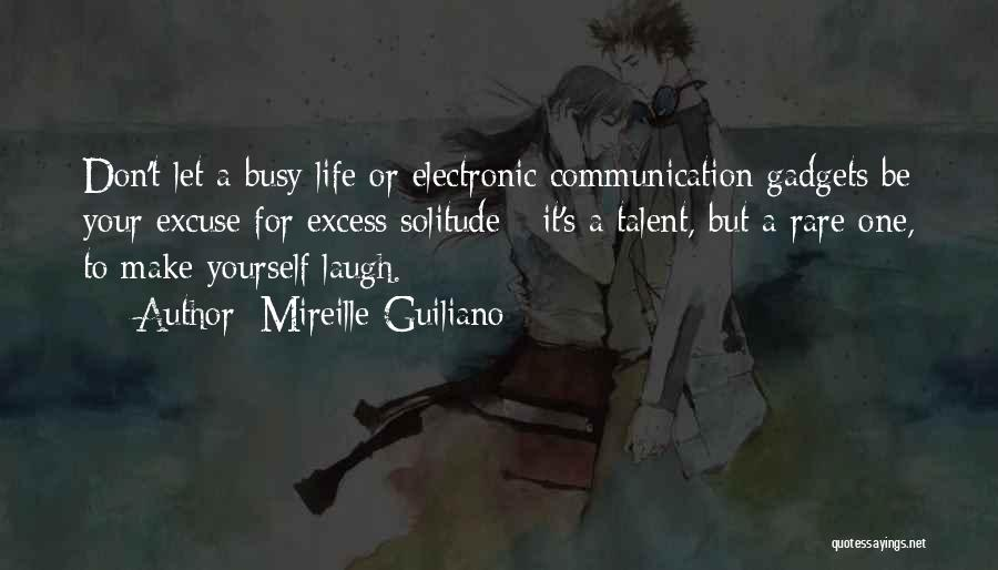 Electronic Communication Quotes By Mireille Guiliano