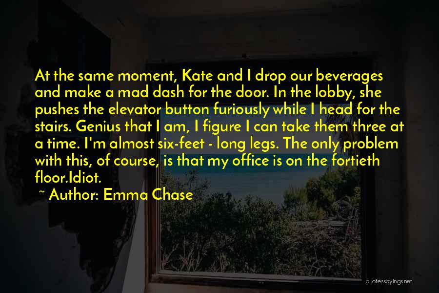 Elevator Door Quotes By Emma Chase