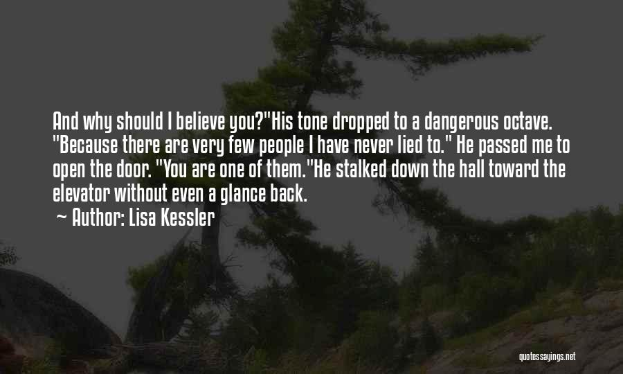 Elevator Door Quotes By Lisa Kessler