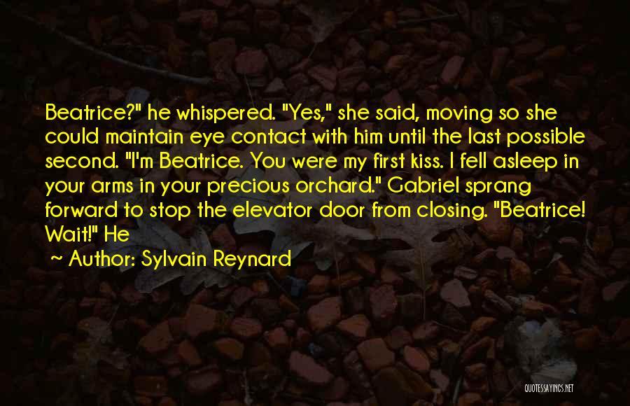 Elevator Door Quotes By Sylvain Reynard