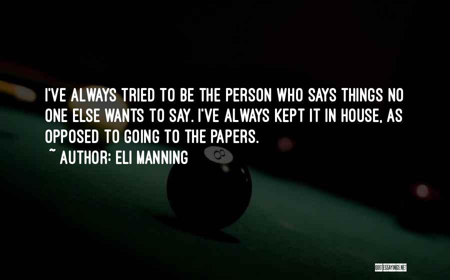 Eli Manning Quotes 207344