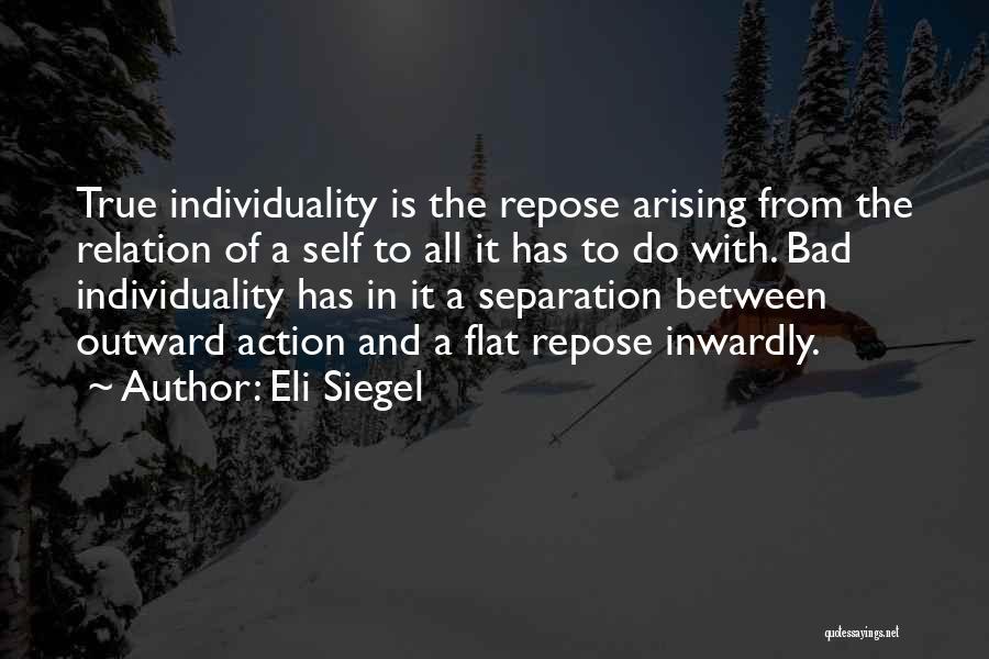 Eli Siegel Quotes 1695231