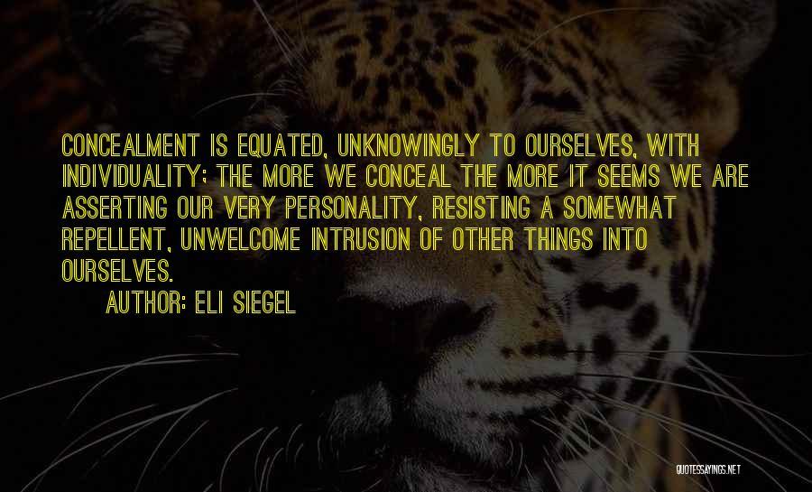 Eli Siegel Quotes 2072858