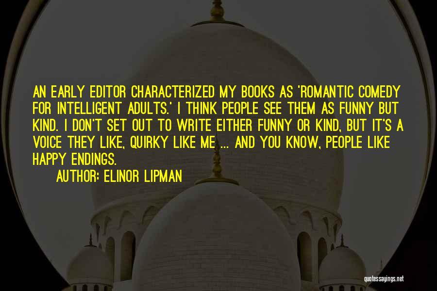 Elinor Lipman Quotes 109263