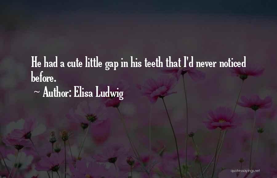 Elisa Ludwig Quotes 2089666