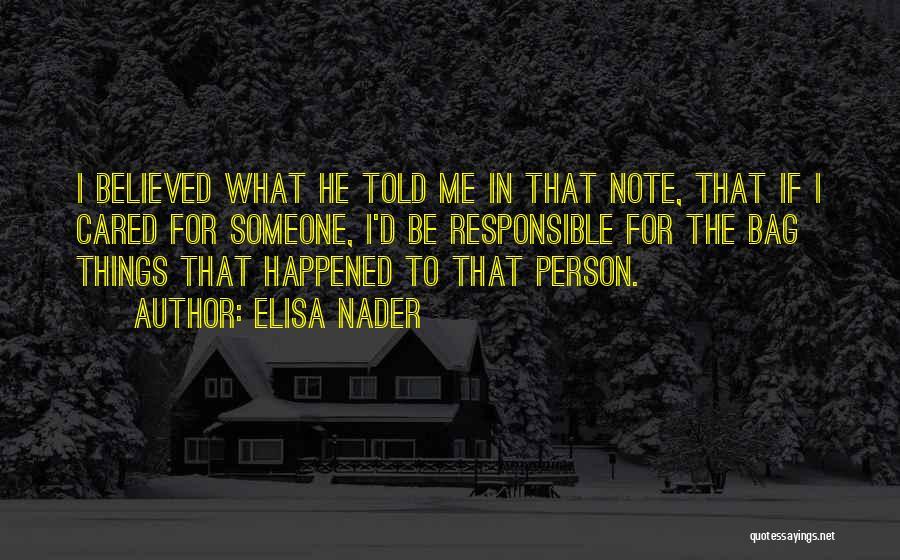 Elisa Nader Quotes 1948423
