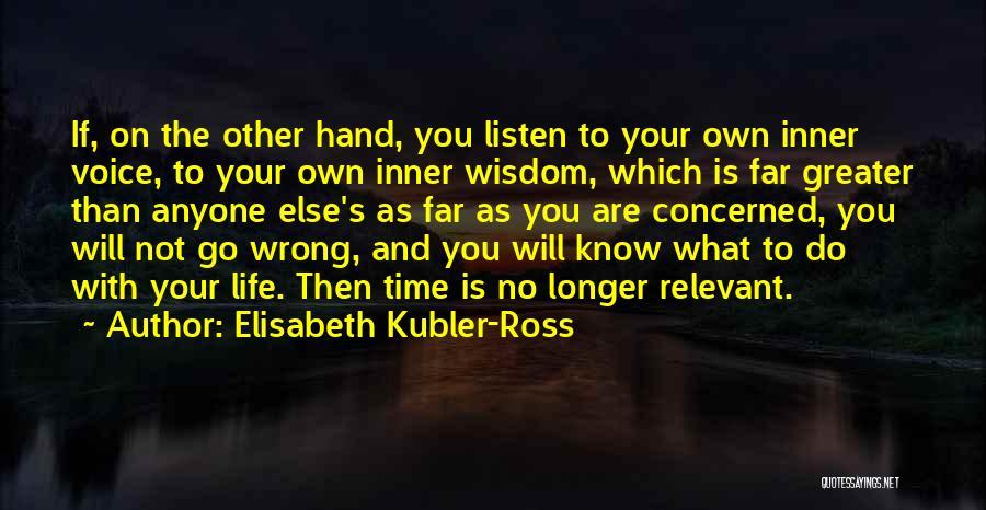 Elisabeth Kubler-Ross Quotes 104775