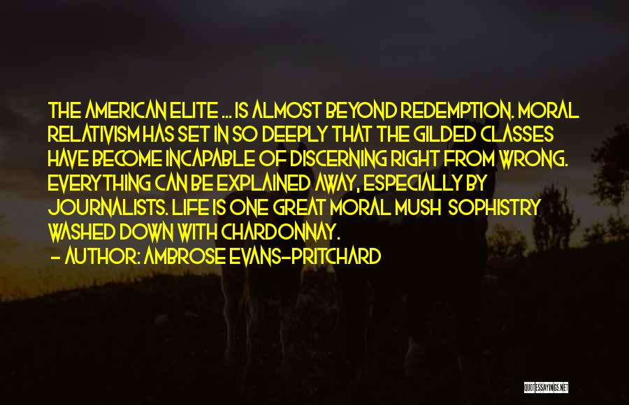 Elite Class Quotes By Ambrose Evans-Pritchard