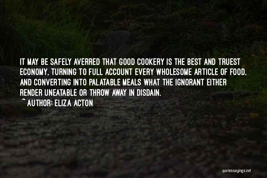 Eliza Acton Quotes 1385230