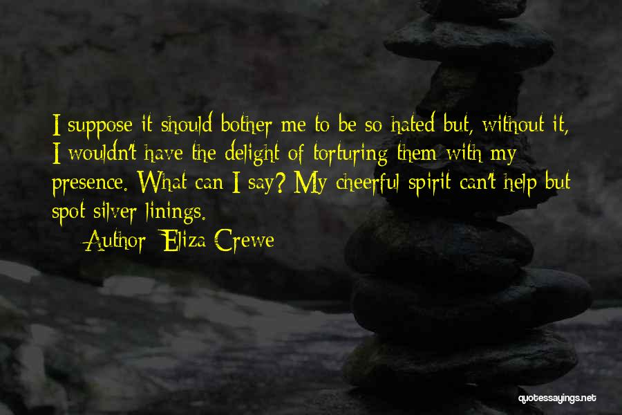 Eliza Crewe Quotes 1608223