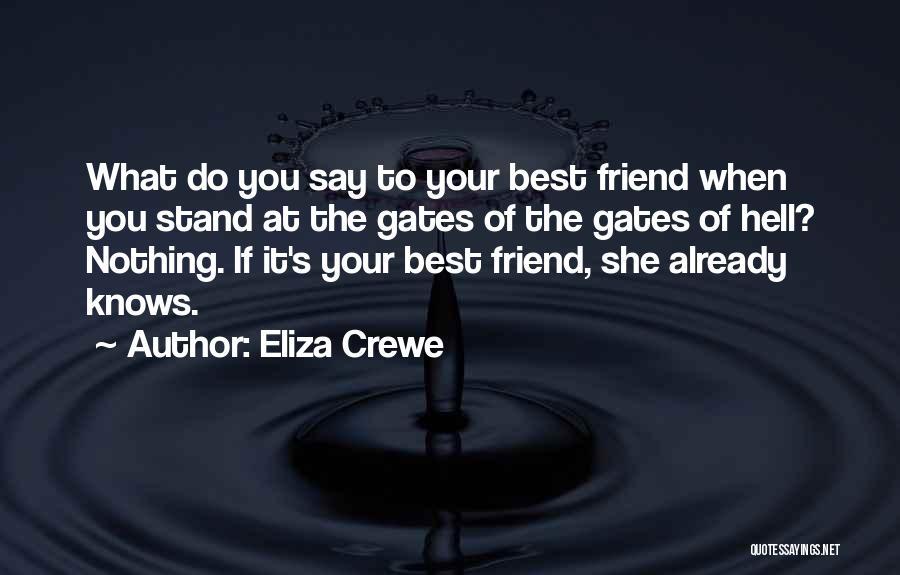 Eliza Crewe Quotes 1779532