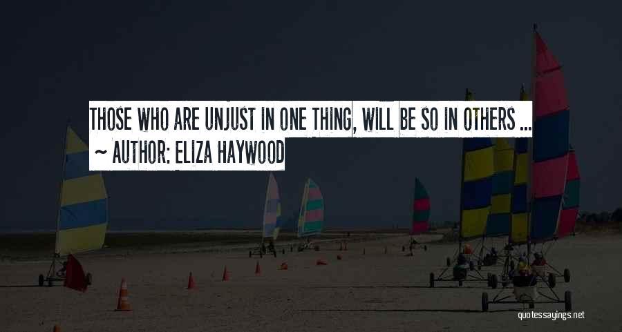 Eliza Haywood Quotes 1402082