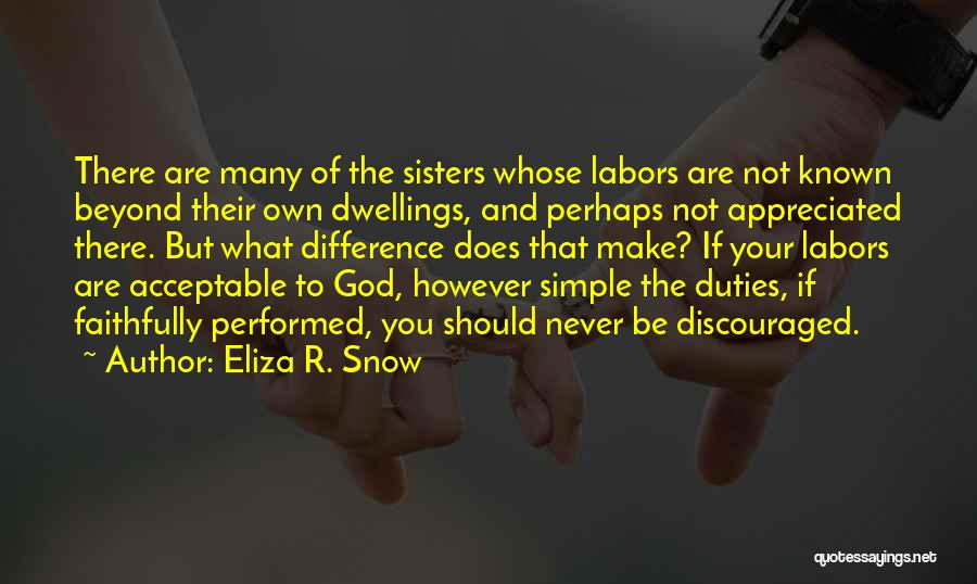 Eliza R. Snow Quotes 1155691