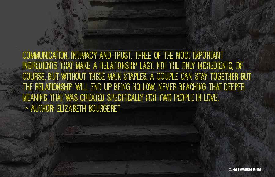 Elizabeth Bourgeret Quotes 1550994