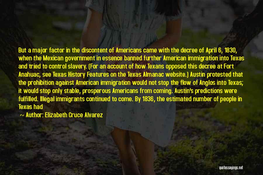 Elizabeth Cruce Alvarez Quotes 1380546